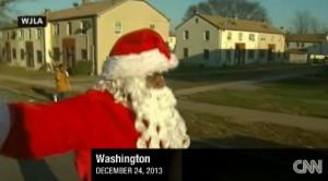 Pašautas Kalėdų Senelis
