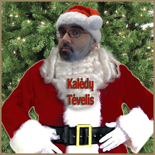 Kalėdų Senelis yra tėvelis