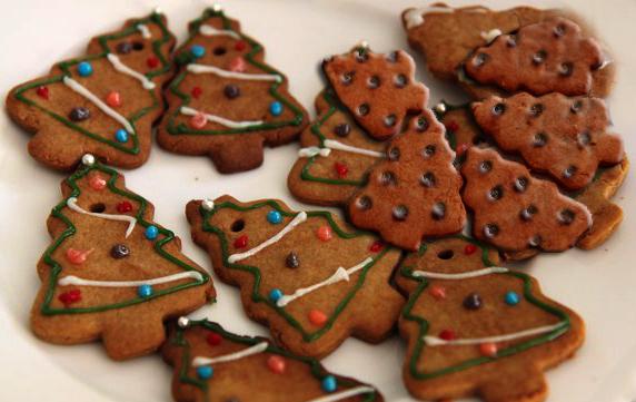 Kalėdų Senelio Sausainiai